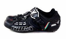 Vittoria Hora Evo Cycling Bike Shoes Black Matte & Carbon Size 41.5 EU 8 US