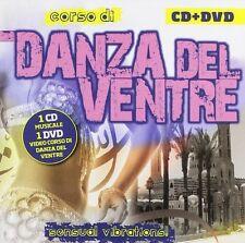 CORSO DI DANZA DEL VENTRE CD + DVD Compilation musica e Guida agli esercizi