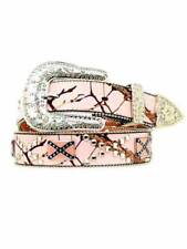 Nocona Pink Mossy Oak Belt conchos N3499430 Sz L