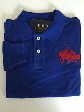 NEW Boys Ralph Lauren Blue Polo Big Pony Dual Match Long Sleeve Shirt Size 3T