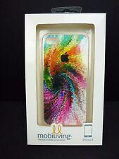 Mobiliving iPone 5 Case Rainbow Starburst Tie Dye