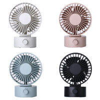 #QZO 2 Wind Speed Desktop Small Fan Sports Portable Mini Silent USB Charging Fan