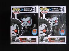 Pop! Heroes - DC Super Heroes - Lobo & Lobo Bloody Variant Figure by FUNKO - PX