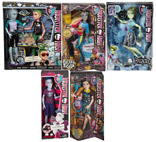 MONSTER HIGH BOY LOT GIL WEBBER DEUCE PORTER SLO MO NEIGHTHAN JACKSON JECKYLL