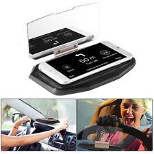 Head Up Car HUD 360 Display Reflection GPS Mobile Phone Mount Bracket Holder K2