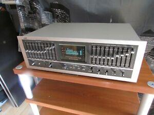 JVC SEA-90 10 Band Graphic Equalizer mit Spectrum Analyzer BDA