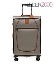 Stratic ORIGINAL Reise Koffer Trolley 4 Rollen L 80 cm Champagner Beige