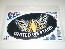 Knock Out Decal     Eagle  United We Stand   NIP