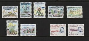 Greenland - 2 sets from 1989-90 mint, cat. $ 32.00
