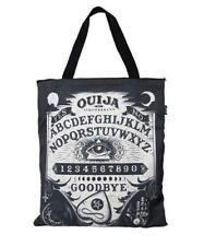 Liquor Brand Canvas Ouija Board Tote Bag Rockabilly Punk Goth Mystical Purse