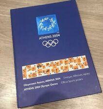 Athens Olympic Games 2004 Folder of Poster Art Cards - Very Rare Memorabilia