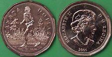 2005 Canada Terry Fox Dollar Graded as Brilliant Uncirculated