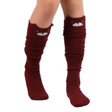 Hot Sale Women Girls Trendy Cat Catoon Socks Over Knee High Stockings Long Socks