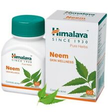 Himalaya Neem Nimba (Azadirachta indica) Wellness 60 Tablets Herbal Product