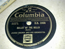 JACKIE BROWN BALLET OF THE BELLS & THEME FROM GLENN MILLER STORY COLUM DB3408