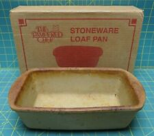 "Pampered Chef Stoneware Loaf Pan 9"" x 5"" x 3.5"""