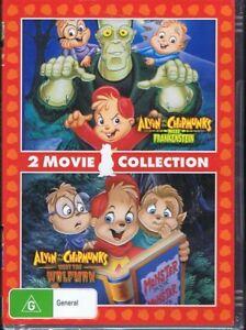 ALVIN And & The CHIPMUNKS Meet Frankenstein + Meet The Wolfman DVD NEW & SEALED