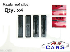 4x Roof Clip Cover - Mazda 2, 3, 5, 6, CX7 diesel petrol - 02-12 *Brand New*