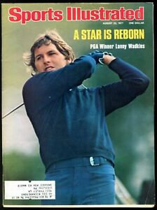 SI: Sports Illustrated August 22, 1977 Lanny Wadkins, Golf, VERY GOOD