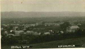 1934 postcard general view of TRIMSARAN Carmarthenshire