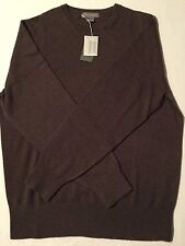 Daniel Cremieux Men's 100% Cashmere Sweater, Olive Brown, Size, XLG, NWT