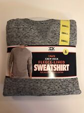Men's Bridgeport Fleece-Lined Sweatshirt  Light Grey  Small