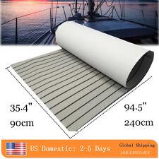 EVA Boat Flooring Carpet Marine Teak Decking Sheet With Adhesive Light Gray