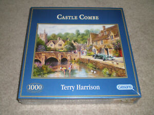 CASTLE COMBE HARRISON GIBSONS JIGSAW 1000 PIECES COMPLETE BNIP
