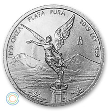 2019 1/10 oz Mexico Silver Libertad BU In Capsule (6,100 Mintage)