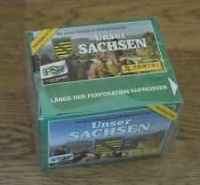 Panini Our Saxony COLLECTING STICKERS 1 Display 50 Packs/250 Sticker