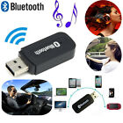 NEW Bluetooth Wireless USB Stereo Aux Audio Mp3 Music Home Car Receiver Adapter