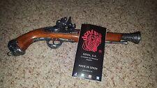 Denix Pirate 18th Century Flintlock Blunderbuss Pistol Replica Gun Grey - 1031G