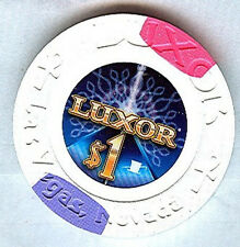 LUXOR CASINO LAS VEGAS $1CHIP (NEW) 2010 (E9469)