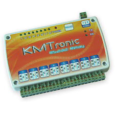 Kmtronic Rs232 Serial Com Controlled 8 Channel Relay Board Box 12v