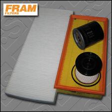 KIT di servizio FIAT ULYSSE 2.0 JTD FRAM Olio Aria Carburante Cabin filtri (2002-2006)