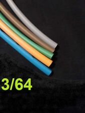"""3/64"""" inch 1.19mm -TELCO GROUP 2-   heat shrink tubing 2:1  polyolefin (5 FOOT)"""