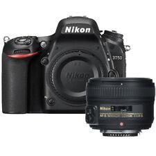 Nikon D750 FX-format Digital SLR Camera Body with AF-S FX NIKKOR 50mm f/1.8G Le