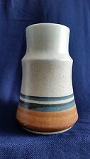 Vintage Lapid Pottery Vase Made in Israel 6940 Hand Painred by LEA
