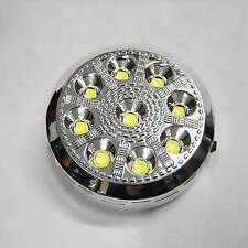 Luz Interior 9 LED ON / Descuento Interruptor 12v coche redondo techo Cúpula