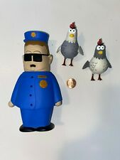 South Park Loose Officer Barbrady Police with Chickens Mirage Series 4 2004