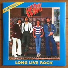 "The Who - Long Live Rock 7"" Vinyl"