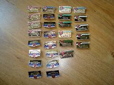 Vintage Soviet Russian 27 pcs pins badges GAZ M car automobiles of USSR