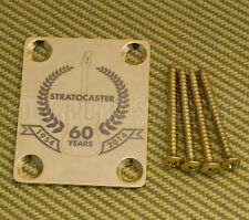 * 770-4035-000 Squier/Fender 60th Anniversary Stratocaster Gold Neck Plate