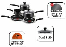 Tefal Cooking Pots Set 5PC Non Stick Frying Pan Milk Pan Saucepan Set with Lids