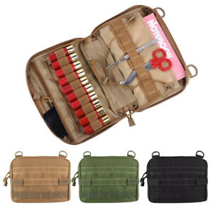 Tactical EDC Bag Utility Molle Drop Dump Pouch Medical Pouch Magazine Pack Case
