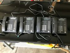 LOT OF 4 Panasonic KX-T7730 Business Telephone System Caller ID Speakerphone