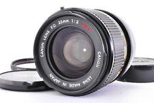 【Near Mint】 Canon FD 35mm f/2 SSC MF SLR Lens  From JAPAN A267