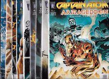 CAPTAIN ATOM ARMAGEDDON #1-#9 SET (NM-) WILDSTORM COMICS