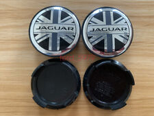 4x 58mm Car Wheel Center Hub Cap Cover Emblem Accessories For Jaguar Blue