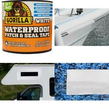 """Gorilla Waterproof Patch & Seal Tape, 4"""" x 10', White (Pack of 1)"""